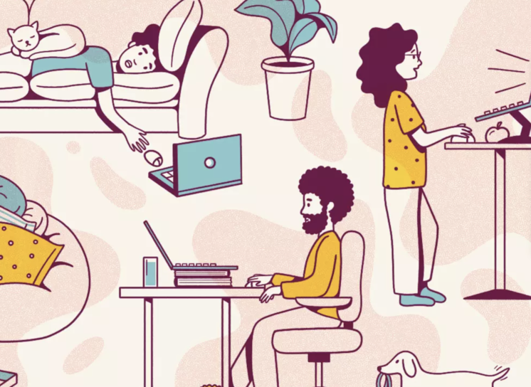 5 Strategies for Improving Work At-Home Wellness